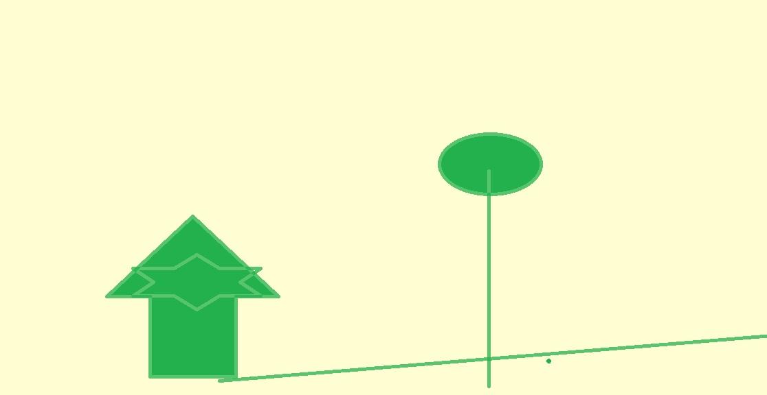 построих им измислена къща